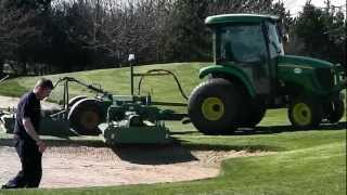Major Equipment TDR16000 Rollermower Demo at Ramside golf course