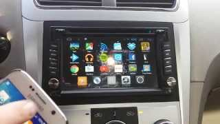 getlinkyoutube.com-Android Radio 4g Head Unit Car Audio 2-Din Review
