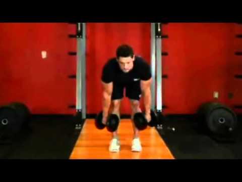 Ejercicio para aumentar masa muscular en las piernas con mancuernas