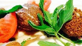 getlinkyoutube.com-سر مقادير الفلافل اللبنانية المقرمشة وطريقة تحضيرها وقليها Best falafel recipe