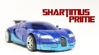 getlinkyoutube.com-Transformers 4 Age of Extinction Drift Deluxe Class Toy Movie Action Figure Review