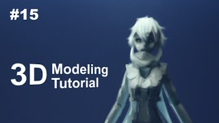 [Part 15/ 40] Anime Character 3D Modeling Tutorial II - Hair Details