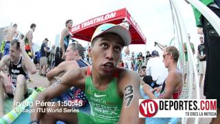 Irving Perez  en el World Series Triathlon de Chicago