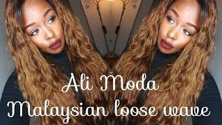Ali Moda Malaysian loose wave hair review & install