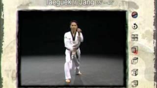 7ο Πούμσε: Τάεγκουκ Τσιλ Τζανγκ (Poomsae Taeguek Chil Jang)
