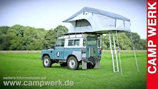 getlinkyoutube.com-CAMPWERK Dachzelt ADVENTURE Aufbau Autodachzelt Klappzelt Faltzelt Autozelt