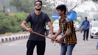 Blind Man Prank   Prank In India By Vinay Thakur   AVRprankTV