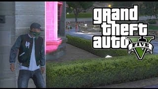 getlinkyoutube.com-GTA 5 THUG LIFE #2 - SNEAKING INTO THE PLAYBOY MANSION!