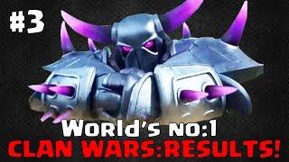 getlinkyoutube.com-World No1 Clan Wars - The RESULTS!