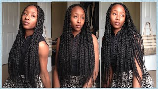 How to Twist like a Pro | Long Classy Twists | Aseamae Natural