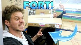 FORT CONSTRUCTION IN A STORE!