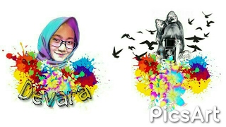 Cara Edit Foto Magic Splash Di PicsArt | Tutorial