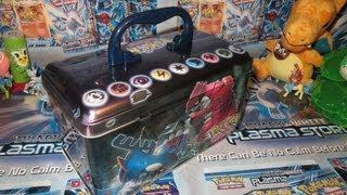 getlinkyoutube.com-Opening A Pokémon EX Collector's Carry Tin!