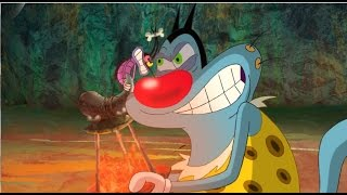 getlinkyoutube.com-Oggy and the Cockroaches - Oggy The Movie - Full Extract in HD