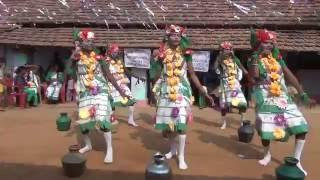 getlinkyoutube.com-Dr. Ratan Hembram & Tipu Soren, Kesharpur- Santali Chhapal Dance 2016 - 04