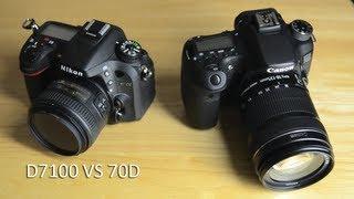 getlinkyoutube.com-Nikon D7100 VS Canon 70D