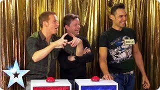 getlinkyoutube.com-Ant and Dec go head-to-head in Give Us A Clue | Britain's Got More Talent 2014