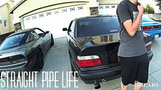 Straight Pipe BMW E36 Ruins Peoples Day