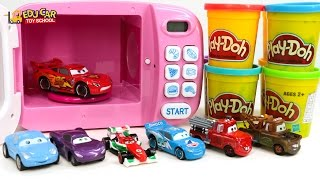 Learning Color Number with Special Disney Pixar Cars Lightning McQueen Play doh for kids car toys