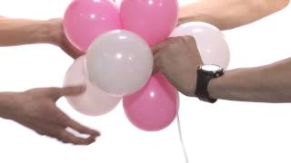 getlinkyoutube.com-Воздушные шарики. Как самостоятельно украсить шарами.