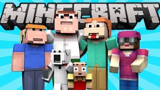 getlinkyoutube.com-If Family Guy Was in Minecraft (Minecraft Machinima)