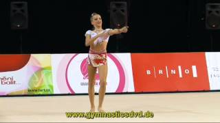 getlinkyoutube.com-Denisa Stepankova - CZE - Junior 09 - Grand-Prix Brno 2015