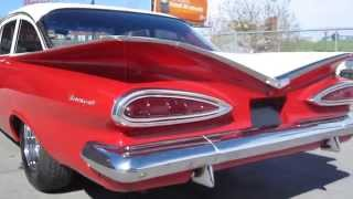 1959 Chevrolet Biscayne Coupe Restored Low Rider