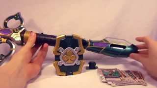 review - kamen rider blade dx leangle rouzer