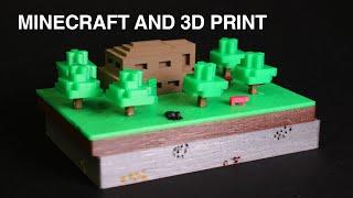 getlinkyoutube.com-Minecraft and 3D print