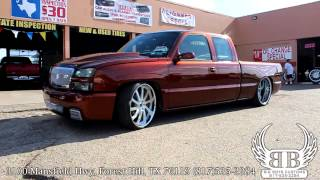 getlinkyoutube.com-04 Kandy Rootbeer Chevy Silverado on 24X15 Savini's Big Boys Customs