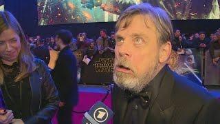 getlinkyoutube.com-STAR WARS: THE FORCE AWAKENS: Mark Hamill hates the name Luke Skywalker