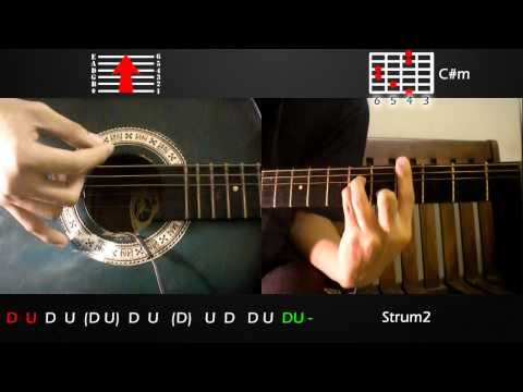 One Hit Combo - Parokya ni Edgar feat. Gloc-9 Guitar Tutorial (Basic and Advanced Strumming)