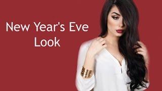 getlinkyoutube.com-New Year's Eve Look (with Bellami giveaway) - (Bellami مكياج وتسريحة سهرة رأس السنة (مع