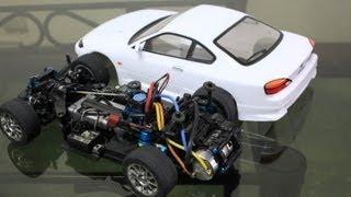 getlinkyoutube.com-Tamiya M06 Silvia S15 - Mini RC Car