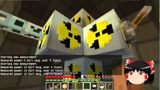 getlinkyoutube.com-【Minecraft】科学の力使いまくって隠居生活 Part16【ゆっくり実況】