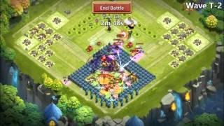 HBM T, castle clash TH 21
