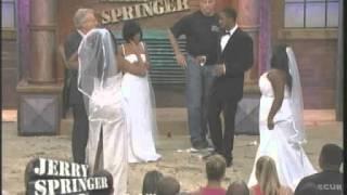 getlinkyoutube.com-Engaged To 3 Women (The Jerry Springer Show)