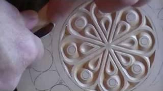 getlinkyoutube.com-Chip Carving a Hand Mirror