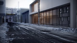 Snow Fall in 3DS Max