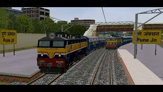 getlinkyoutube.com-MSTS IR Indian Railways (XI) By Vaibhav Wakharkar