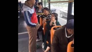 Funny Erection Prank in Bus 2017   Died Of Laughter width=