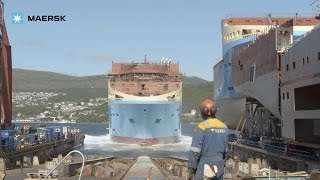 getlinkyoutube.com-Starfish anchor handling tug supply vessels at Kleven Verft ship yard in Norway