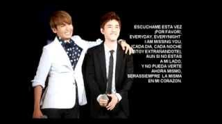getlinkyoutube.com-Missing You (Spanish Cover) - Ryeowook Ft. D.O.(Fly to the Sky´s Cover)