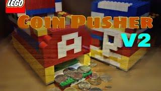 getlinkyoutube.com-LEGO Coin Pusher V2 * Awesome *