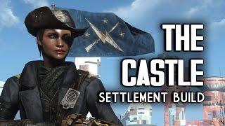 "getlinkyoutube.com-The Castle ""Lived-in"" Settlement Build - Fallout 4 Settlements"