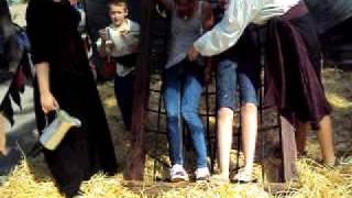 getlinkyoutube.com-renaissance fair torture: emma and vivian