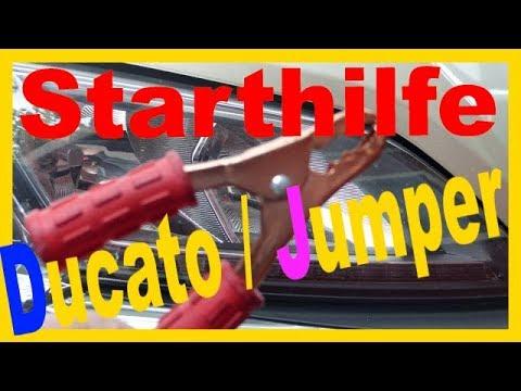 Fiat Ducato Batterie uberbrucken