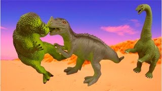 getlinkyoutube.com-Dinosaur Fight 4 Dinosaur Battle Fighting Dinosaurs Battling Dinosaurs 공룡 배틀 공룡 싸움 SuperFunReviews
