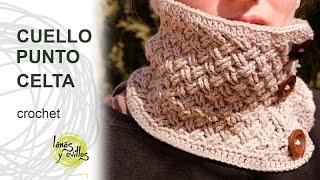 getlinkyoutube.com-Tutorial Cuello o Bufanda Circular con Punto Celta Tejido a Crochet o Ganchillo