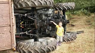 Wypadki rolnicze traktory kombajny